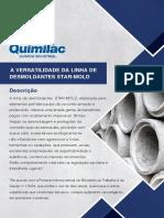 Catálogo de Desmoldantes - Construção Civil - Quimilac
