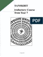 Introduction to Sanskrit Language