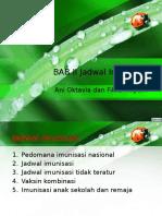 BAB II Jadwal Imunisasi