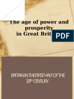 The Age of Power and Prosperity in Great Britain