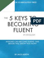 5 Keys to Fluency, language