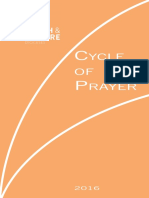 Diocesan Cycle of Prayer