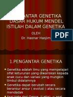 PENGANTAR GENETIKA