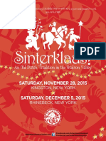 Sinterklaas 2015 PROGRAM