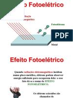 Eletricidade e Magnetismo – Efeito Fotoelétrico