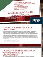 Presentacion Scribd Administración de Operaciones