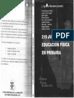 215 Juegos Para Educacion Física en Primaria