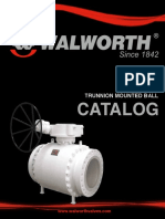 Walworth Trunnion Ball Valves Catalog
