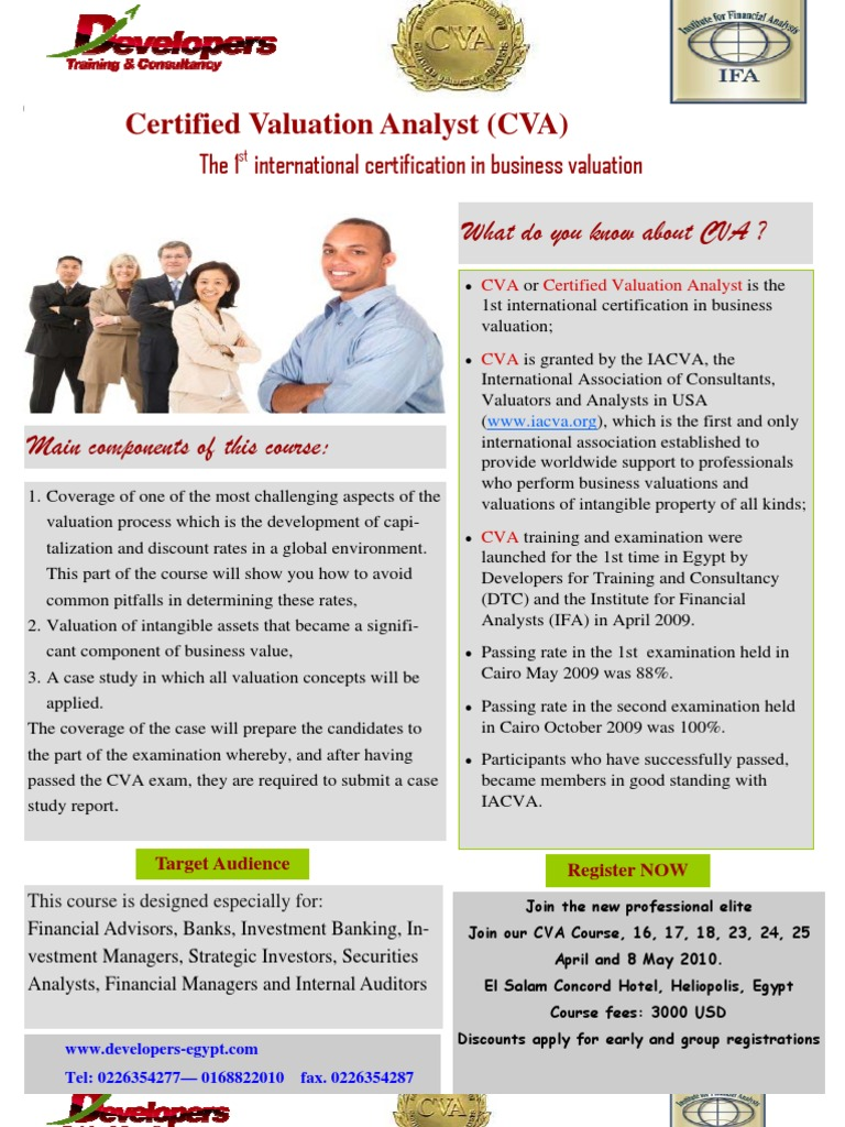 Certified valuation analyst cva business valuation valuation certified valuation analyst cva business valuation valuation finance 1betcityfo Choice Image