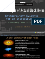 Black Hole Slideshow