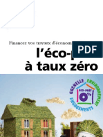 GUIDE ADEME Eco-Pret a Taux Zero - Eco PTZ
