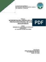 Analisis Juridico Ley Pina