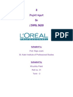 Loreal India  strategic management