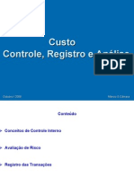 Contabilidade - Custos Controle Registro Analise