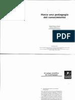 Florez Ochoa, Rafael. Hacia Una Pedagogia Del Conocimiento - Cap 7