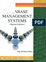 Database Management Systems - Pallaw, Vijay Krishna(Author)