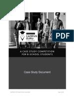 Shoppers Stop Campus Guru CaseDocument