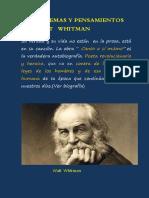IV. 6. Poemas y Pensamientos de Walt Whitman