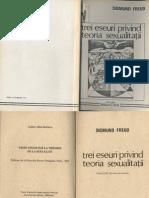 Sigmund Freud 3 eseuri privind teoria sexualitatii