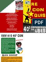Cartilha Reconquistar a Ubes 2013