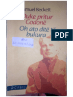 Samuel Beckett - Duke pritur Godone dhe Oh ato dite te bukura.pdf