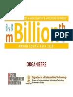 mbillionth - Mobile Innovation Awards