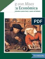 Politica Economica - Ludwig Von Mises