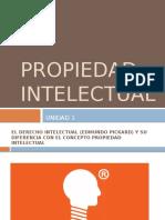 Unidad I Propiedad Intelectual