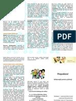01 Prescolar Pliant Pentru Parinti