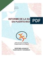 Informe de La Salud en PUerto Rico 2014