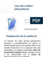 Informes Del Auditor Independiente
