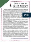 Funciona El Speed Dating