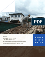 Wild Money - The Human Rights Consequences of Illegal Logging