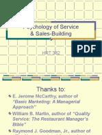 Psychology Service Sales Building 382