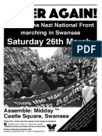 Never Again Poster (M26)