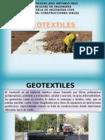 presentación sobre los geotextiles
