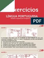 Exercícios variação linguística