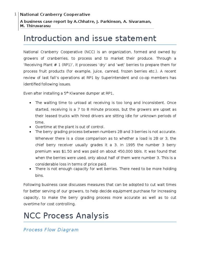 national cranberry cooperative case cranberry barrel (unit)Process Flow Diagram National Cranberry Cooperative #14