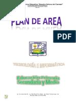 Plan de Area Informatica 2014