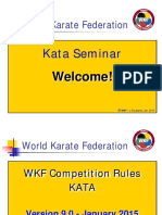 Karate Regras WKF - KATA
