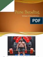 Pure Bending