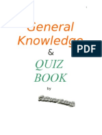 General Knowledge & Quiz Book - By Subroto Mukerji