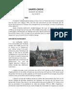 Ste Croix Dossier de Presse Définitif