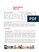 Alicorp Nota de Prensa Resultados 4T2014