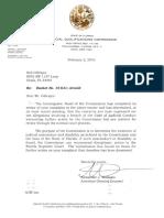 JQC Docket 15-631 Re James David Arnold DISMISSED Feb-02-2016