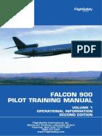 Falcon 900 Pilot Training Manual