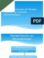 Recomendaciones de Terapia Física en La Consulta Reumatológica 2
