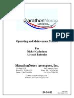 Marathon Norco Battery Maintenance Manual