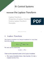 Laplace Tranform