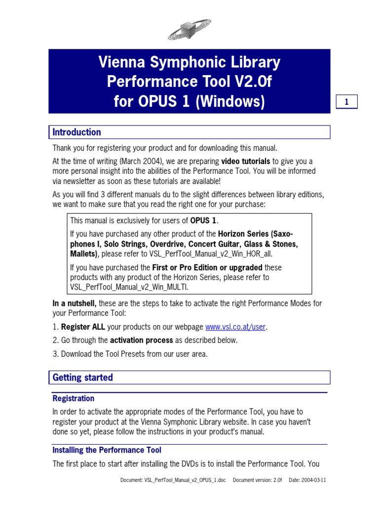 d5010ce86fa53 VSL PerfTool Manual v2 OPUS 1
